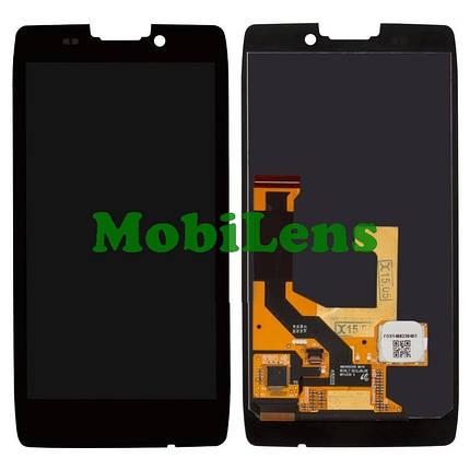 Motorola XT925, XT926, Razr HD Дисплей+тачскрин(модуль) черный, фото 2