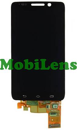 Motorola XT1030, Droid Mini Дисплей+тачскрин(модуль) черный, фото 2