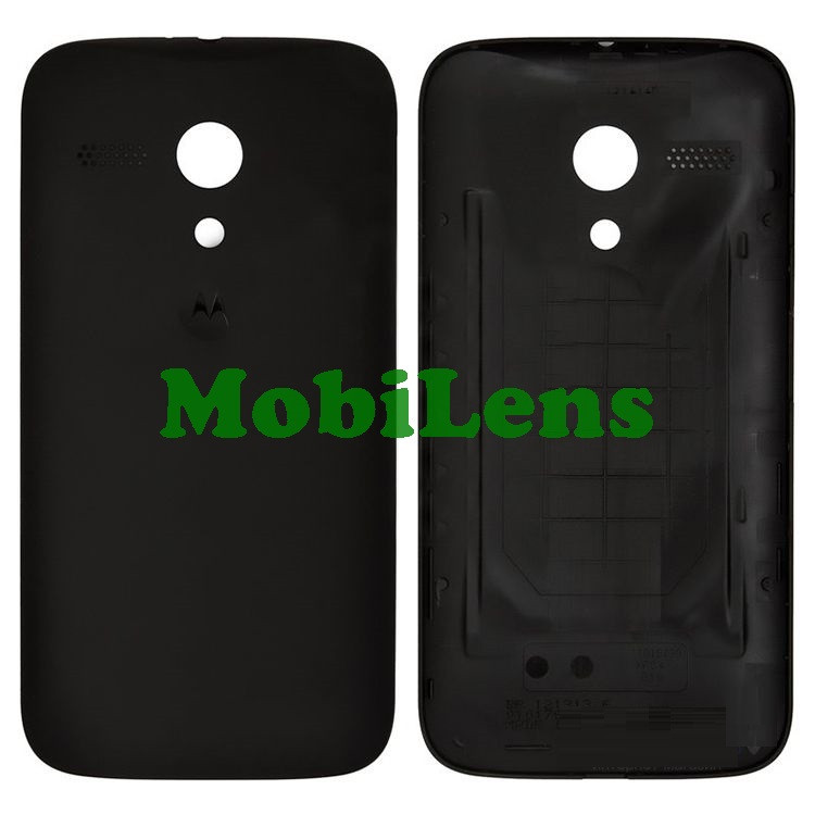 Motorola XT1033, XT1032, XT1036, Moto G Задняя крышка черный