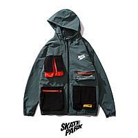 Куртка, ветровка Skatepark Green унисекс