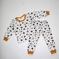 Піжама для хлопчика з манжетом байка 92-116 розміри, фото 1