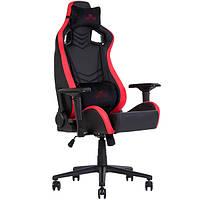 Кресло игровое для компьютера HEXTER (ХЕКСТЕР) PRO R4D TILT MB70 01 black/red, фото 1