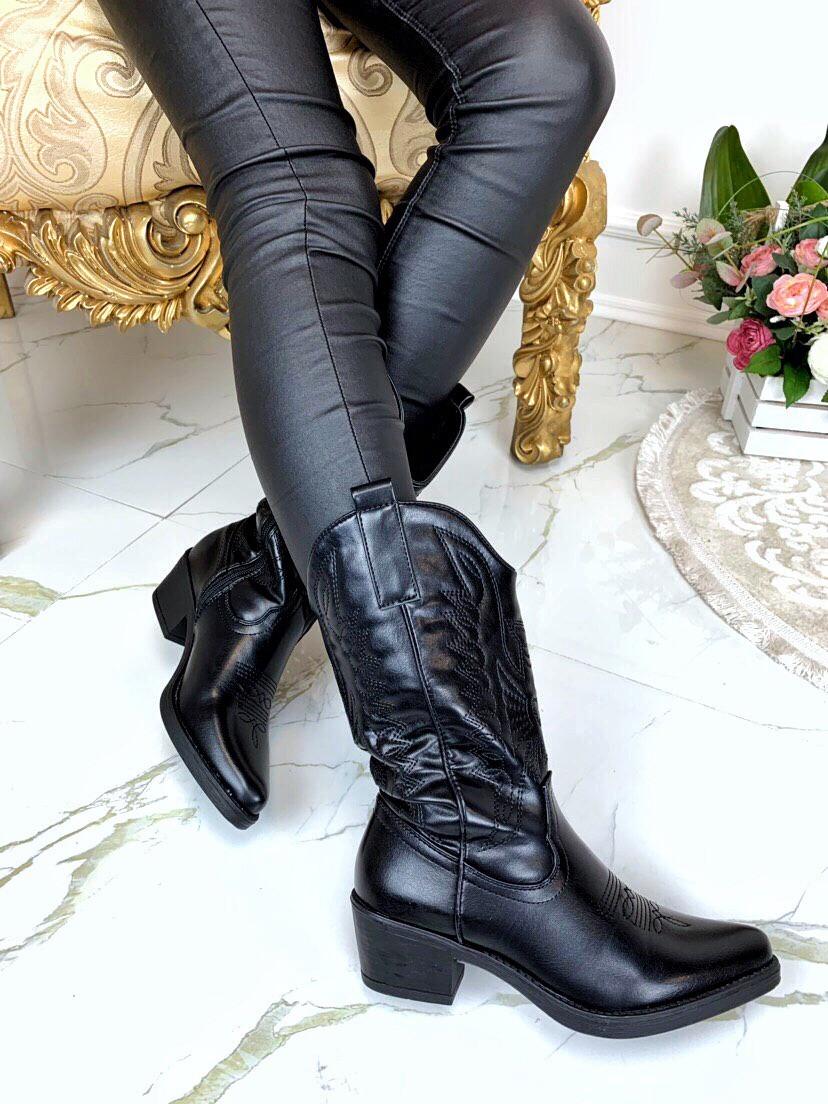 Женские ковбойские сапоги Казаки