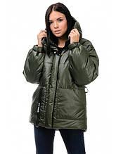Куртка зимняя женская (хаки)