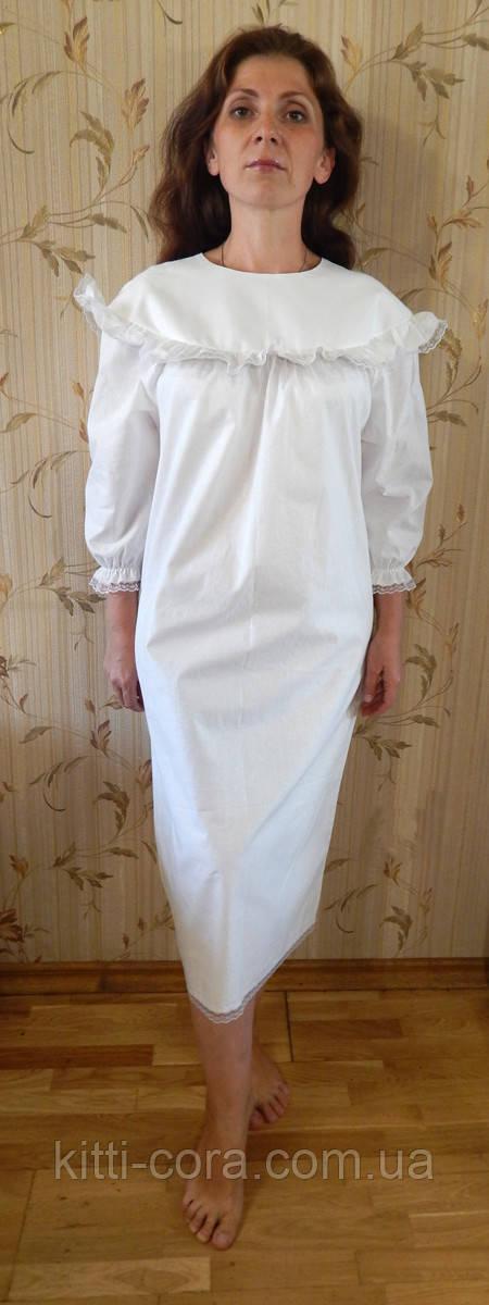 """Крестильное платье для взрослых. Модель""""Catherine"""" (""""Катерина"""")"""