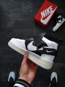 Мужские кроссовки Nike Air Force из эко-кожи