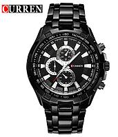 Мужские наручные часы CURREN Black