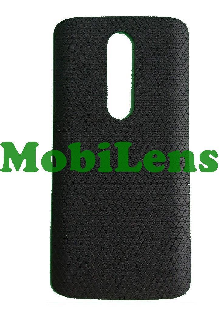 Motorola XT1053, XT1052, XT1055, XT1056, XT1058, XT1060, Moto X Задняя крышка черная