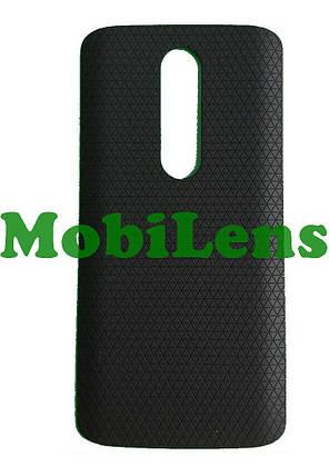 Motorola XT1053, XT1052, XT1055, XT1056, XT1058, XT1060, Moto X Задняя крышка черная, фото 2