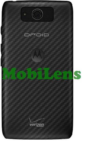 Motorola XT1080, Droid Ultra, Droid Maxx, XT1080M Задняя крышка черная