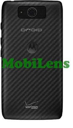 Motorola XT1080, Droid Ultra, Droid Maxx, XT1080M Задняя крышка черная, фото 2