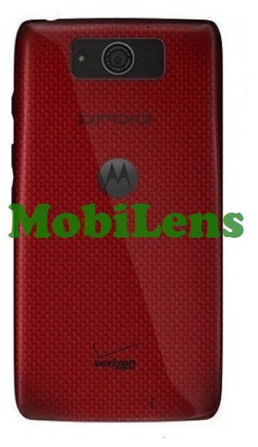 Motorola XT1080, Droid Ultra, Droid Maxx, XT1080M Задняя крышка красная