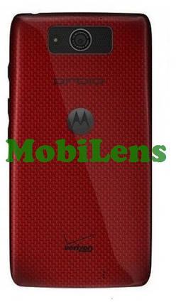 Motorola XT1080, Droid Ultra, Droid Maxx, XT1080M Задняя крышка красная, фото 2