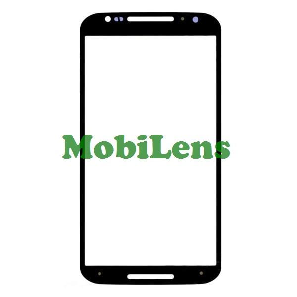Motorola XT1092, XT1093, XT1095, XT1096, XT1097, Moto X (2nd Gen) Стекло корпуса (для переклейки) черное