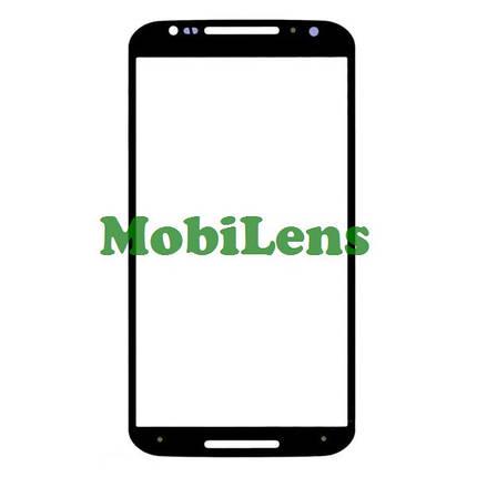 Motorola XT1092, XT1093, XT1095, XT1096, XT1097, Moto X (2nd Gen) Стекло корпуса (для переклейки) черное, фото 2