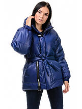 Куртка зимняя женская (синий), фото 2