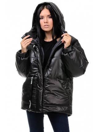 Куртка зимняя женская (чёрный), фото 2
