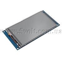 Дисплей 3.97 800х480 драйвер OTM8009A сенсор XPT2046