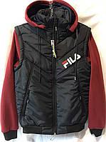 """Куртка-жилетка мужская демисезонная FILS, размеры 48-56 """"DikChin"""" купить недорого от прямого поставщика"""