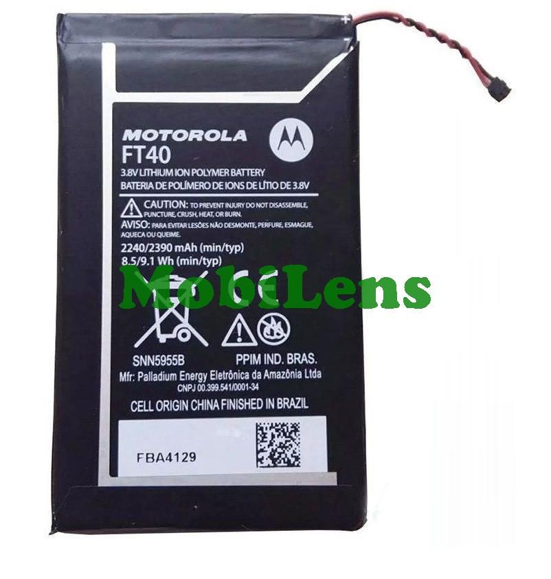 Motorola XT1505, XT1511, XT1524, XT1526, XT1527, Moto E2, FT40 Аккумулятор