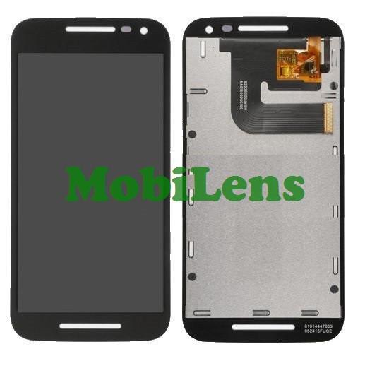 Motorola XT1540, XT1550, XT1541, XT1544, XT1548 Moto G3 (3nd Gen-2015) Дисплей+тачскрин черный