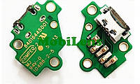 Motorola XT1540, XT1550, XT1557, XT1541, XT1544, XT1548 Moto G3 (3nd Gen-2015) Шлейф с разъемом зарядки