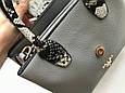 Сумка женская Prada  (серая), фото 5