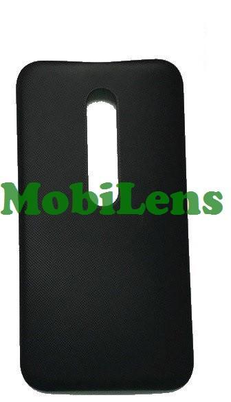 Motorola XT1540 Moto G3, XT1541, XT1544, XT1548, XT1550 Задняя крышка черная