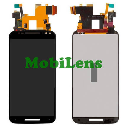 Motorola XT1572, XT1575, XT1570, Moto X Style, Moto X Pure Edition Дисплей+тачскрин(модуль) черный, фото 2