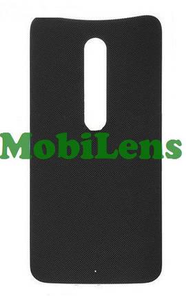 Motorola XT1572, XT1575, XT1570, Moto X Style, Moto X Pure Edition Задняя крышка черная, фото 2
