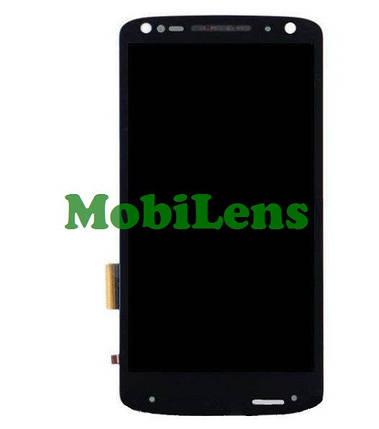 Motorola XT1585, XT1580, XT1581, Moto X Force, Droid 2 Turbo Дисплей+тачскрін(модуль) чорний, фото 2
