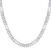Серебряная цепочка ЕВРО ВЕРСАЧЕ 55 см, фото 1