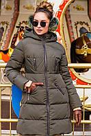 Приталенная утепленная куртка, фото 1