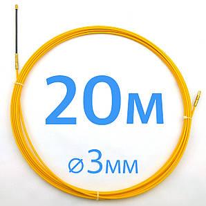 Кабельная протяжка 3мм х 20м - стеклопрут