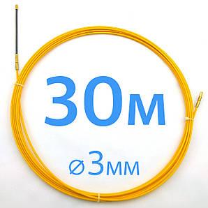 Кабельная протяжка 3мм х 30м - стеклопрут