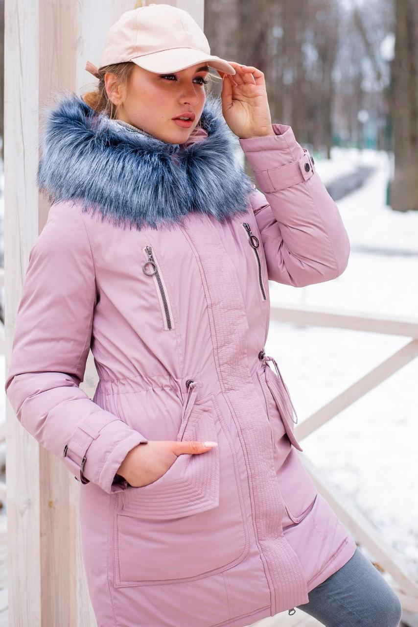Зимняя куртка-парка для девушек