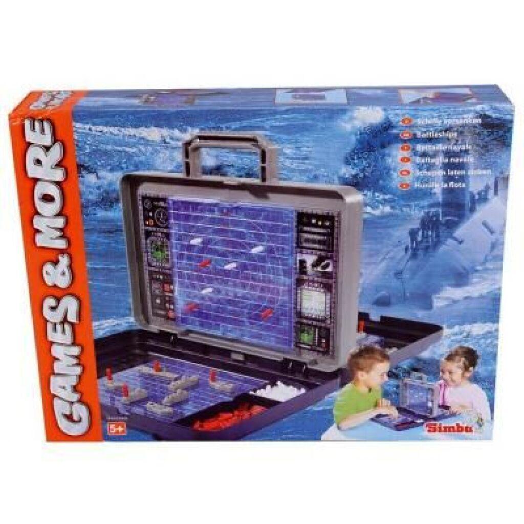 Настольная игра Simba Морской бой (6100335)