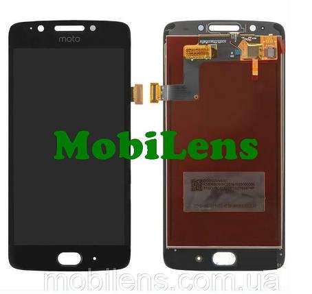 Motorola XT1676, XT1670, XT1672, XT1675, Moto G5 Дисплей+тачскрін(модуль) чорний, фото 2