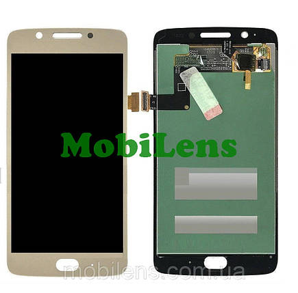 Motorola XT1676, XT1670, XT1672, XT1675, Moto G5 Дисплей+тачскрин(модуль) золотистый, фото 2
