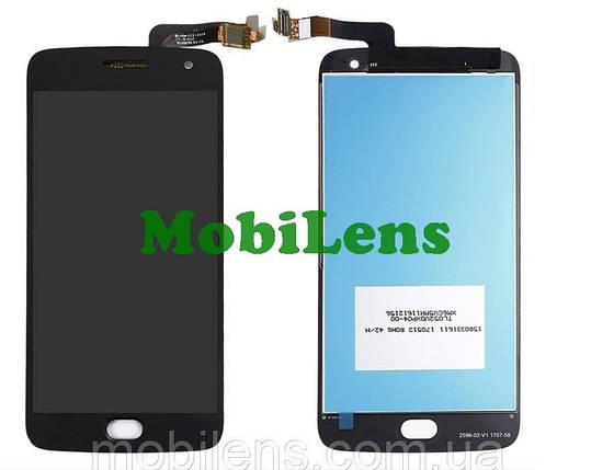 Motorola XT1685, XT1684, XT1687, Moto G5 Plus Дисплей+тачскрин(модуль) черный, фото 2