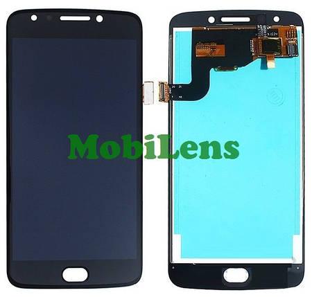 Motorola XT1767, XT1768, Moto E4, REV.2, TYPE: M2993, (датчик слева) Дисплей+тачскрин(модуль) черный, фото 2