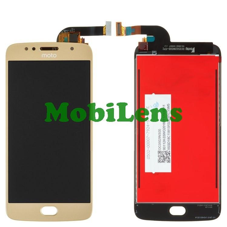 Motorola XT1794, Moto G5S Дисплей+тачскрин(модуль) золотистый