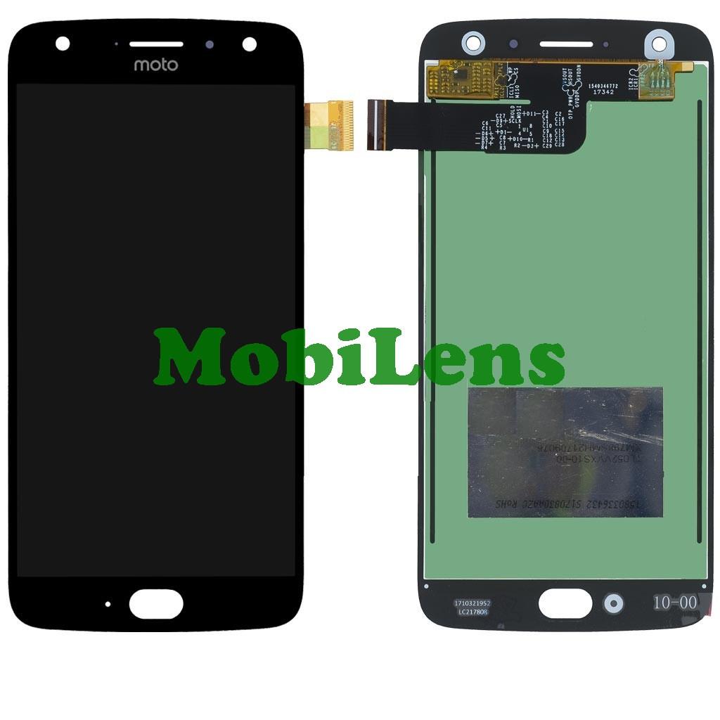 Motorola XT1900, XT1900-7 Moto X4 Дисплей+тачскрин(модуль) черный