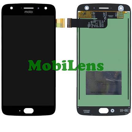 Motorola XT1900, XT1900-7 Moto X4 Дисплей+тачскрин(модуль) черный, фото 2