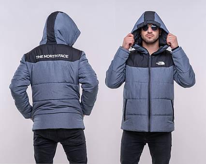 """Тёплая мужская куртка на синтепоне 1230 """"THE NORTH FACE"""""""