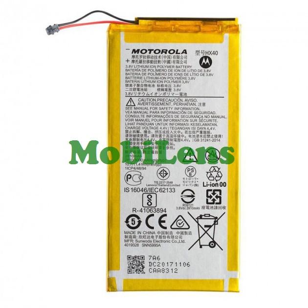 Motorola XT1900, XT1900-7 Moto X4, HX40 Аккумулятор