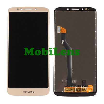 Motorola XT1922, Moto G6 Play Дисплей+тачскрин(модуль) золотистый, фото 2
