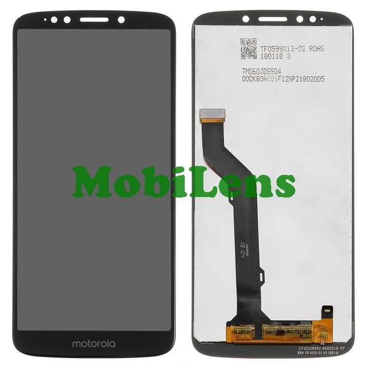 Motorola XT1924, XT1924-1, Moto E5 Plus Дисплей+тачскрін(модуль) чорний