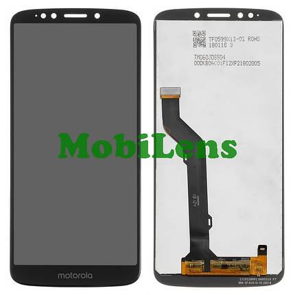 Motorola XT1924, XT1924-1, Moto E5 Plus Дисплей+тачскрін(модуль) чорний, фото 2