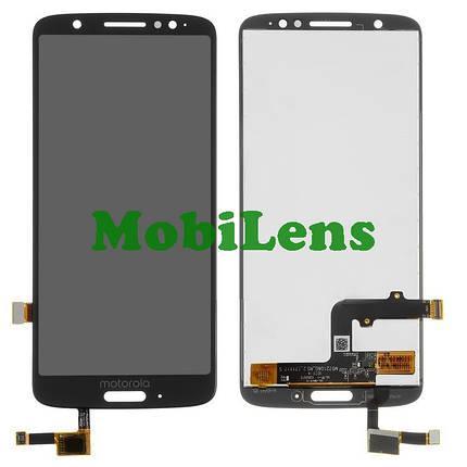 Motorola XT1925, Moto G6 Дисплей+тачскрин(модуль) черный, фото 2